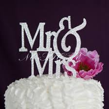discount monogram silver wedding cake toppers 2017 monogram
