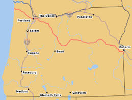 map of highway 395 oregon oroads us route 26