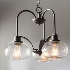 Chandelier With Edison Bulbs Edison Light Chandeliers Wayfair