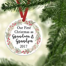 grandparent gift grandparent baby reveal