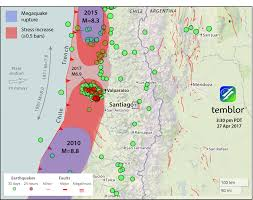Map Chile A M 8 3 Chile Earthquake Has Become More Likely Temblor Net
