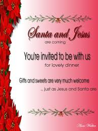 invitation greeting christmas invitation card format for christmas