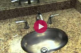 video how to fix a dripping faucet easily fix a leaky faucet