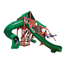 gorilla playsets sun valley deluxe swing set 01 0042 1 the home