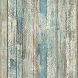 haokhome 5003 weathered faux wood plank wallpaper rolls slategray