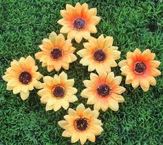 Fake Sunflowers Online Get Cheap Fake Sunflowers Large Aliexpress Com Alibaba Group