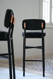 Leather Bar Stool With Back Bar Stools Black Leather Bar Stools Australia Pair Of Cube Bar