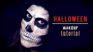 Halloween Skeleton Make Up by Halloween Makeup Skeleton Face Youtube