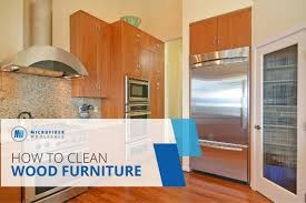 what should you use to clean wooden kitchen cabinets how to clean wood furniture safely 3 steps no harsh