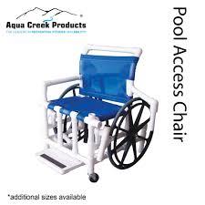 Mesh Pool Chairs Pool Access Chairs Aqua Creek