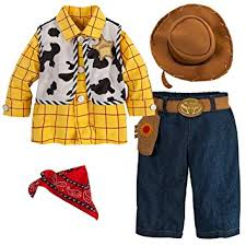 amazon com disney store toy story sheriff woody halloween costume