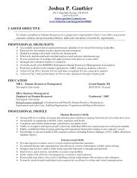 hr resume sle human resources resume entry level human resources hr