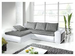 c discount canapé canape d angle gris et blanc dangle convertible canape d angle gris