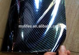 Car Interior Carbon Fiber Vinyl Tj Vinyl 5d High Glossy Black Carbon Fiber Car Interior Decoration