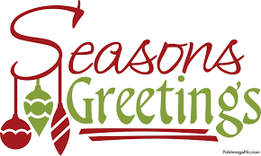image gallery of seasons greetings text