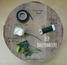 how to make boutonnieres how to make a boutonniere made in a day