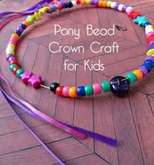 Princess Crafts For Kids - easy pony bead butterfly craft for kids pony beads imagination