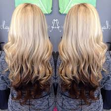 hair styles brown on botton and blond on top pictures of it blonde on top dark brown on the bottom longer styles colors and id
