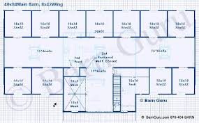 11 stall horse barn floor plan with living quarters horse shows