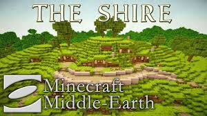 The Shire Map The Shire Minecraft Middle Earth Youtube