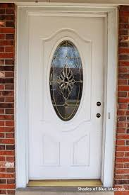 painting your front door the easy way the diy village a no fail guide painting your front door shades of blue interiors