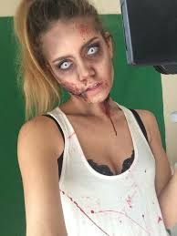 Zombie Halloween Costumes Adults 25 Zombie Costumes Ideas Zombie Makeup Diy