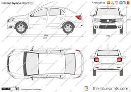 renault symbol 2016 the blueprints com vector drawing renault symbol iii
