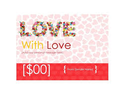 printable romantic gift certificates 40 free gift certificate templates template lab
