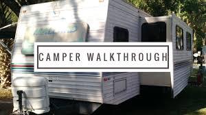 Mallard Roof Cleaning by 32z Fleetwood Mallard Camper Walkthrough Camper Living Youtube