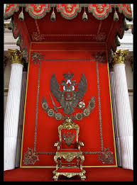 the symbol of the two headed eagle u2013 st petersburg russia