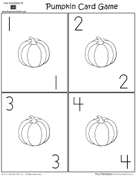pumpkin lacing card and patterns a to z teacher stuff printable