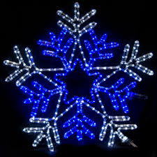 snowflake lights ge led for windows icicle