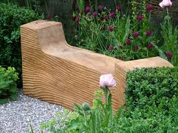 Landscape Timber Bench 30 Wooden Benches That Increase The Welcome Of Your Garden