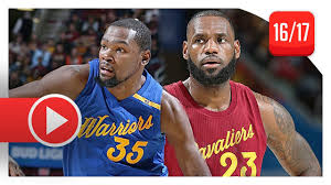 kevin durant vs lebron christmas duel highlights 2016 12 25