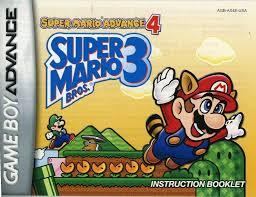 111 3968 nintendo game boy advance super mario bros 3 super