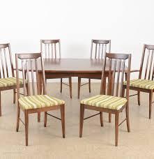 Broyhill Dining Room Tables Broyhill Furniture Dining Room Set Circa 1950s Ebth