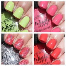 the polishaholic nicole by opi summer 2014 seize the summer