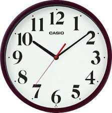 wall watch casio analog wall clock price in india buy casio analog wall clock
