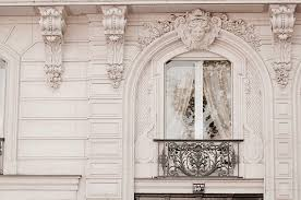 Baroque Home Decor Paris Photograph Baroque Window Classic Black And White