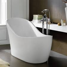 Free Standing Bathroom Mirrors Bathroom Cool Small Freestanding Bath 119 Bathroom Traditional