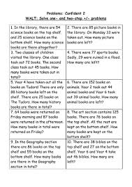 word problem addition and subtraction 2 step addition and subtraction problems 4 levels by helensq