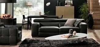 salon canapé cuir le canapé design italien en 80 photos pour relooker le salon