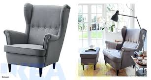 ikea wing chair full size of bed wing chair dark gray ikea