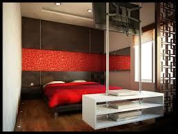 Zen Decorating Ideas Bedroom Minimalist Living Room Red Sofa Ideas Red Wall Decor