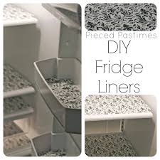 pieced pastimes diy fridge liners
