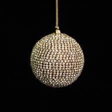 silver crystal ball decoration christmas decorations seed