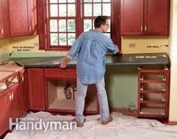 Tile For Kitchen Countertops Install A Laminate Kitchen Countertop Family Handyman