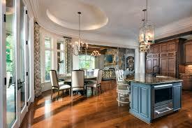 Family Room Light Fixture by Inside Look Northshore Estate Kitchen And Breakfast Area Lauren