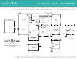 seaside ridge floor plans floor plan 4x at seaside ridge in encinitas new construction homes for sale in leucadia