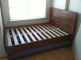 Bed Frame For Boxspring And Mattress How To Disassemble An Ikea Aspelund Bed Frame Snapguide